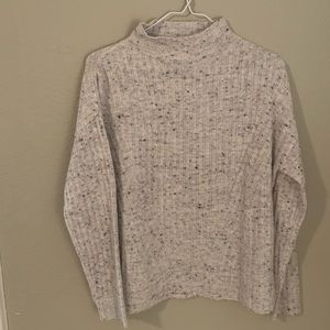 NWT speckled cowl neck sweater